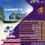 "Thai Airways khuyến mãi vé ""Kool Summer 2019"""