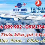 Turkish Airlines triển khai giá SPA đi Châu Âu