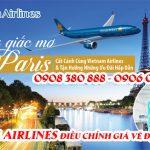 Vietnam Airlines điều chỉnh giá vé đi Pháp