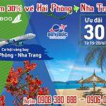 Bamboo Airways giảm 30% vé Hải Phòng đi Nha Trang