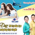 Duy Đức hỗ trợ đào tạo bán vé máy bay trực tuyến