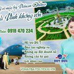 Làm đại lý vé máy bay Vietnam Airlines tại Trà Vinh không vốn