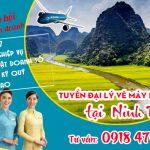 Tuyển đại lý vé máy bay cấp 2 tại Ninh Bình