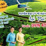 Tuyển đại lý vé máy bay cấp 2 tại Phú Thọ