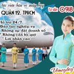 Tuyển đại lý vé máy bay cấp 2 tại quận 12, TPHCM