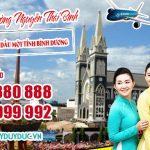 Vé máy bay đường Nguyễn Thái Bình Thành Phố Thủ Dầu Một tỉnh Bình Dương