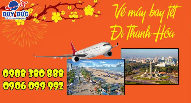 Vé máy bay Tết đi Thanh Hóa tại Hóc Môn