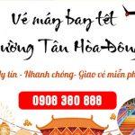 Vé máy bay tết đường Tân Hòa Đông quận Bình Tân TPHCM