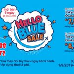 """All Nippon Airways triển khai chương trình khuyến mãi lớn """"Hello Blue Sale"""""""