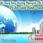 Vé máy bay đường Nguyễn Thị Minh Khai Dĩ An tỉnh Bình Dương – Duy Đức