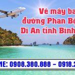 Vé máy bay đường Phan Bội Châu Dĩ An tỉnh Bình Dương – Việt Mỹ
