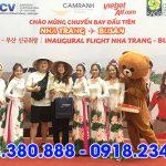 Vietjet Air khai trương đường bay thẳng giữa Nha Trang và Busan