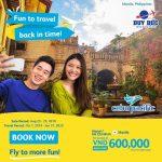 Vé máy bay đi Manila hãng Cebu Pacific chỉ 600k