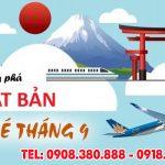Giá vé máy bay đi Nhật Bản tháng 9