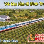 Vé tàu đi Bình Thuận