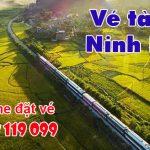 Vé tàu đi Ninh Bình
