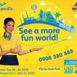 Cebu Pacific khuyến mãi nhân ngày Du lịch thế giới