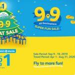 Cebu Pacific khuyến mãi tất cả điểm đến ngày mua sắm 9-9