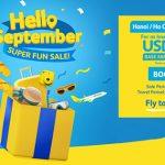 Hãng Cebu Pacific khuyến mãi đón tháng 9