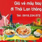 Giá vé máy bay đi Thái Lan tháng 10