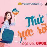 Thứ 5 rực rỡ Vietnam Airlines và Jetstar giảm 50% giá vé