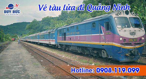 Vé tàu đi Quảng Ninh