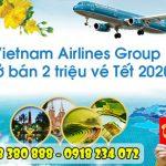 Vietnam Airlines Group mở bán 2 triệu vé máy bay Tết Canh Tý 2020