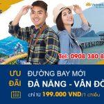 VNA ưu đãi đường bay mới Đà Nẵng – Vân Đồn chỉ từ 199.000 VND