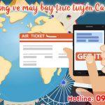 Phòng vé máy bay trực tuyến Cà Mau giá rẻ