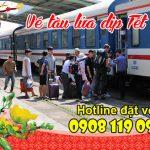Vé tàu lửa dịp tết – Đặt vé tàu Tết trực tuyến