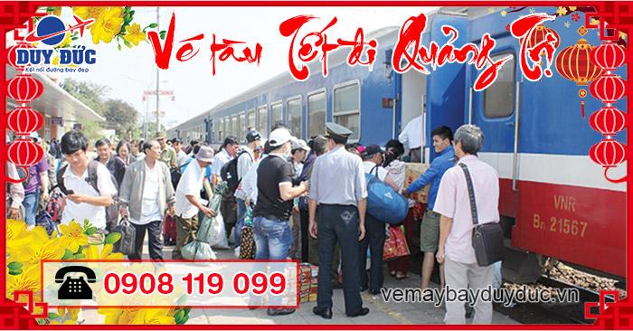 Vé tàu Tết đi Quảng Trị