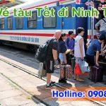 Vé tàu Tết đi Ninh Thuận