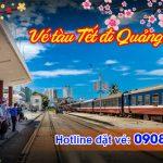 Vé tàu Tết đi Quảng Ngãi