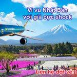Vietnam Airlines ưu đãi đặc biệt đi Nhật Bản