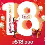 AirAsia khuyến mãi mừng sinh nhật 18 tuổi