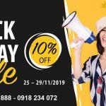 Black Friday Vietnam Airlines ưu đãi 10% giá vé