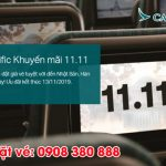Cathay Pacific khuyến mãi 11.11