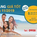 Ưu đãi đầu tháng 11 giá tốt từ Vietnam Airlines