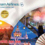 Vietnam Airlines ưu đãi giá vé mùa lễ hội dịp cuối năm