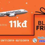 Jetstar khuyến mãi ngày Black Friday vé máy bay giá chỉ từ 11.000 đồng