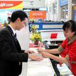 Nhận thanh toán vé khách đặt trên Web hãng Vietjet Air