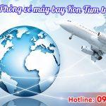 Phòng vé máy bay Kon Tum trực tuyến