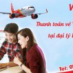 Thanh toán vé Vietjet online tại đại lý hãng Duy Đức
