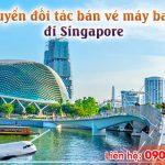 Tuyển đối tác bán vé máy bay quốc tế đi Singapore