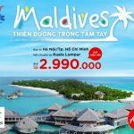 AirAsia khuyến mãi giá vé đi Maldives