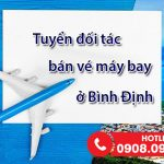 Duy Đức tuyển đối tác bán vé máy bay ở Bình Định