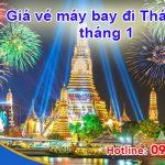 Giá vé máy bay đi Thái Lan tháng 1