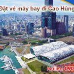 Ở Long An đặt vé máy bay đi Cao Hùng (KHH) Đài Loan được không
