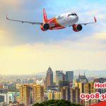 Săn vé giá rẻ đi Taiwan hãng Vietjet