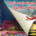 Tuyển đại lý bán vé máy bay Cần Thơ đi Đài Bắc hãng Vietjet